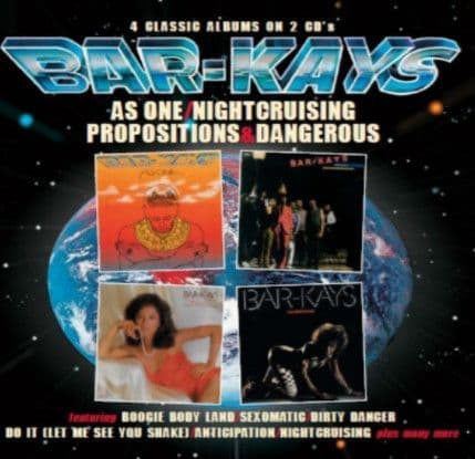 Bar-Kays<br>As One / Nightcruising / Propositions / Dangerous<br>2CD, Comp, RM